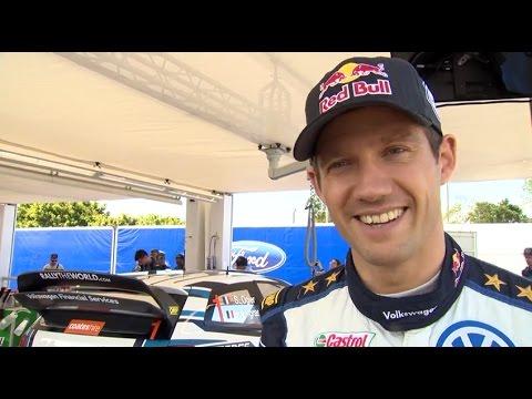 Sébastien Ogier Interview - Rallye d'Australie #GOgier