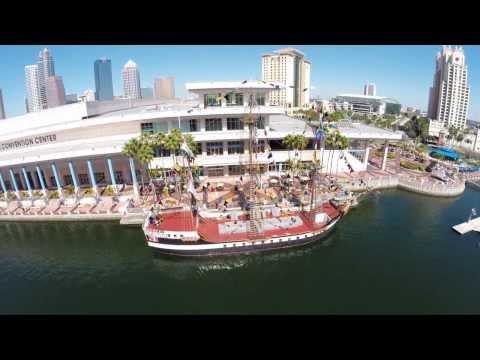 Tampa Convention Center -- Phantom 2 Drone