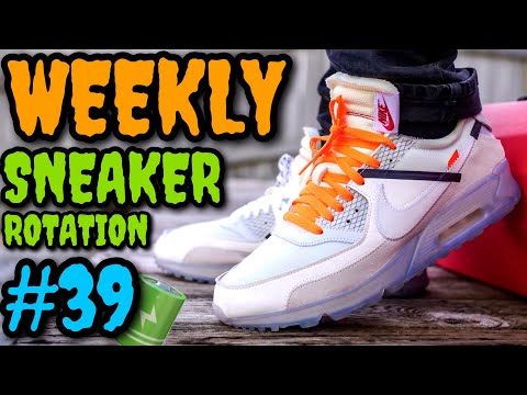 WEEKLY SNEAKER ROTATION ON FEET 39 (What I Wore Ft. Off-White, Nike, Yeezy & ?) #NUMEROTREINTAYNUEVE