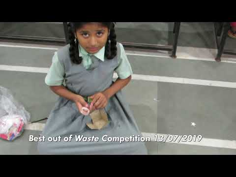 Best out of Waste Competition