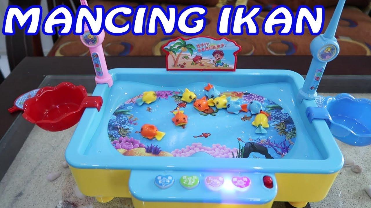 Mancing Ikan Ikanan Pancing Pancingan Ikan Mainan Anak Happy Fishing Youtube