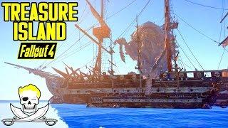 Fallout 4 - TREASURE ISLAND! - Volcanoes, Pirates, LEVIATHANS, & MORE! - Xbox & PC Quest Mod