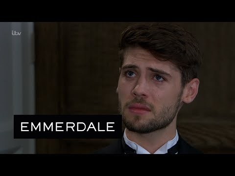 Emmerdale - Graham Gives Joe a Chance to Escape Kim's Vengeance