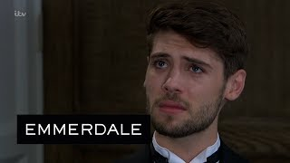 Emmerdale - Graham Gives Joe a Chance to Escape Kim's Vengeance