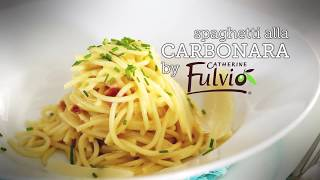 I Love Cooking Chef Series: Catherine Fulvio's Carbonara