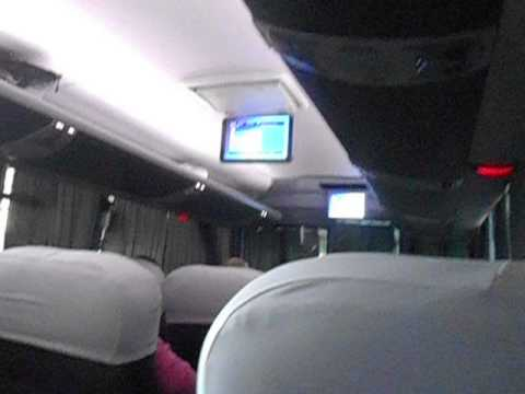 King Quality Bus from Guatemala City to San Salvador Part 1   Guatemala   August 2014