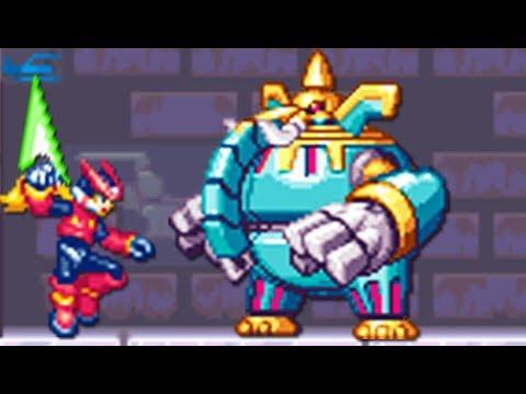 Mega Man Zero (GBA) All Bosses (No Damage)