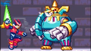 Mega Man Zero (GBA) All Bosses (No Damage)
