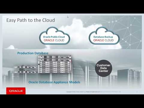 Oracle Database Appliance Simple, Affordable and Engineered for Cloud 2017 05 18
