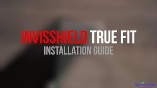 InvisShield True Fit Installation Guide Full Adhesive Tempered Glass Screen Protector
