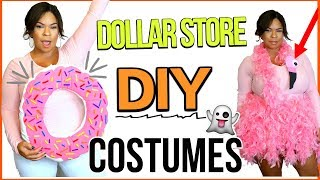 DOLLAR STORE DIY HALLOWEEN COSTUMES 2017 | LAST MINUTE, CHEAP + EASY | Sensational Finds