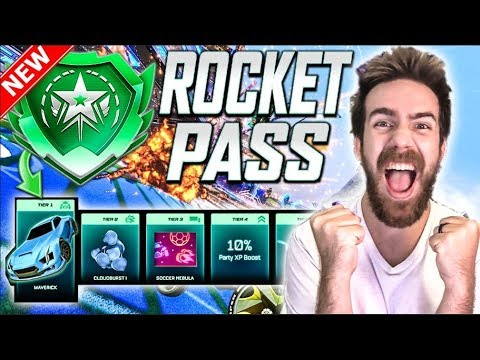 BUYING 120+ TIERS OF THE NEW ROCKET PASS IN Rocket League!