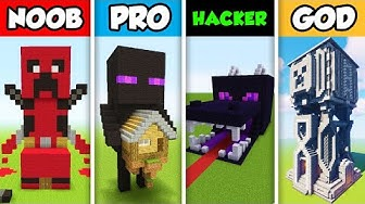 Minecraft NOOB vs. PRO vs. HACKER vs GOD :  LUXURY MOB APARTMENT in Minecraft! (Animation)