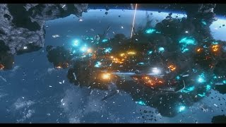 The Beauty of Star Citizen - Smooth Slow Motion Ship Explosions (Pt.1)