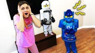 МОИ ДЕТИ ПРЕВРАТИЛИСЬ В ЛЕГО 😱🤖 MY CHILDREN TURNED TO LEGO В РЕАЛЬНОЙ ЖИЗНИ | ДиДиКа ТВ 2019