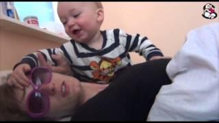 Zachariasz ma 40 tygodni: nie odstępuje mamy na krok :)