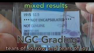 Latest NGC Grading Results - Tears of Sorrow and Tears of Joy