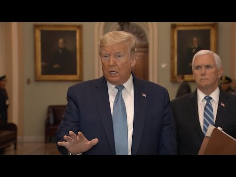 WATCH: President Trump Answers Questions About Meeting With Lawmakers To Discuss Coronavirus S
