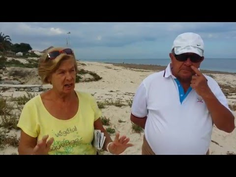 Interview mit Touristen in Port  El Kantaoui/ Sousse