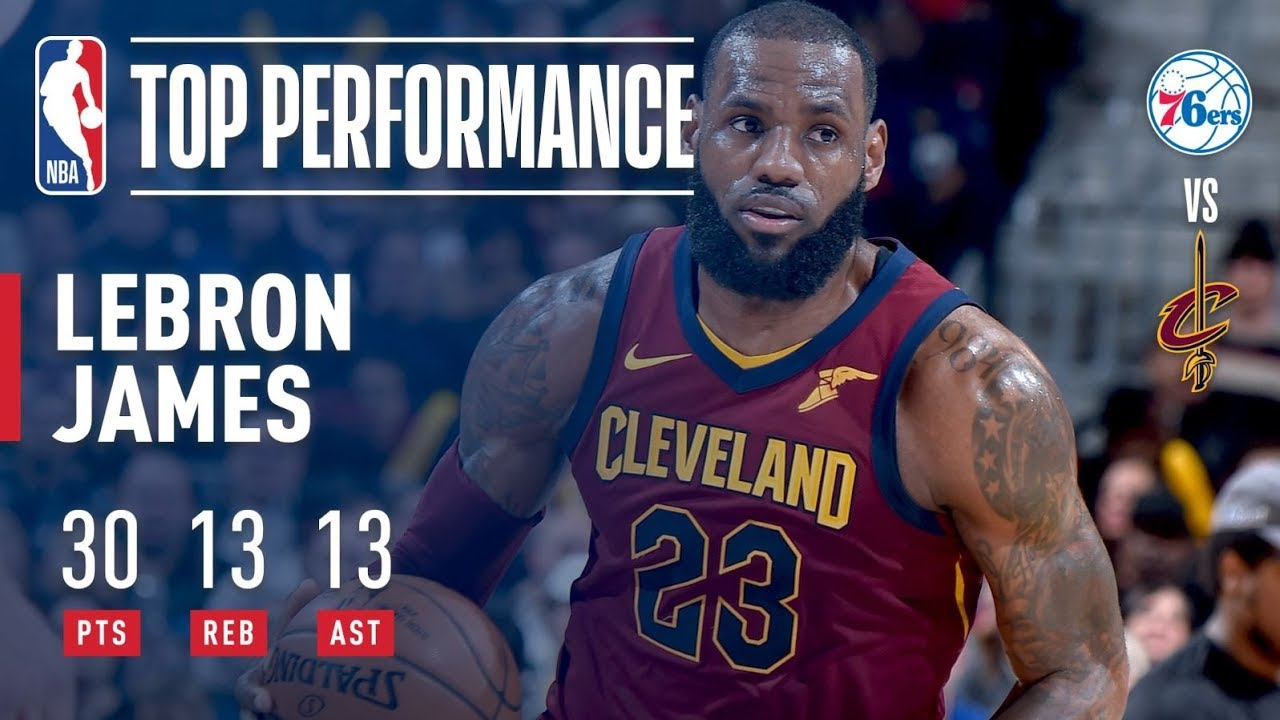 LeBron James seals triple-double month in Cavaliers' victory against Nets