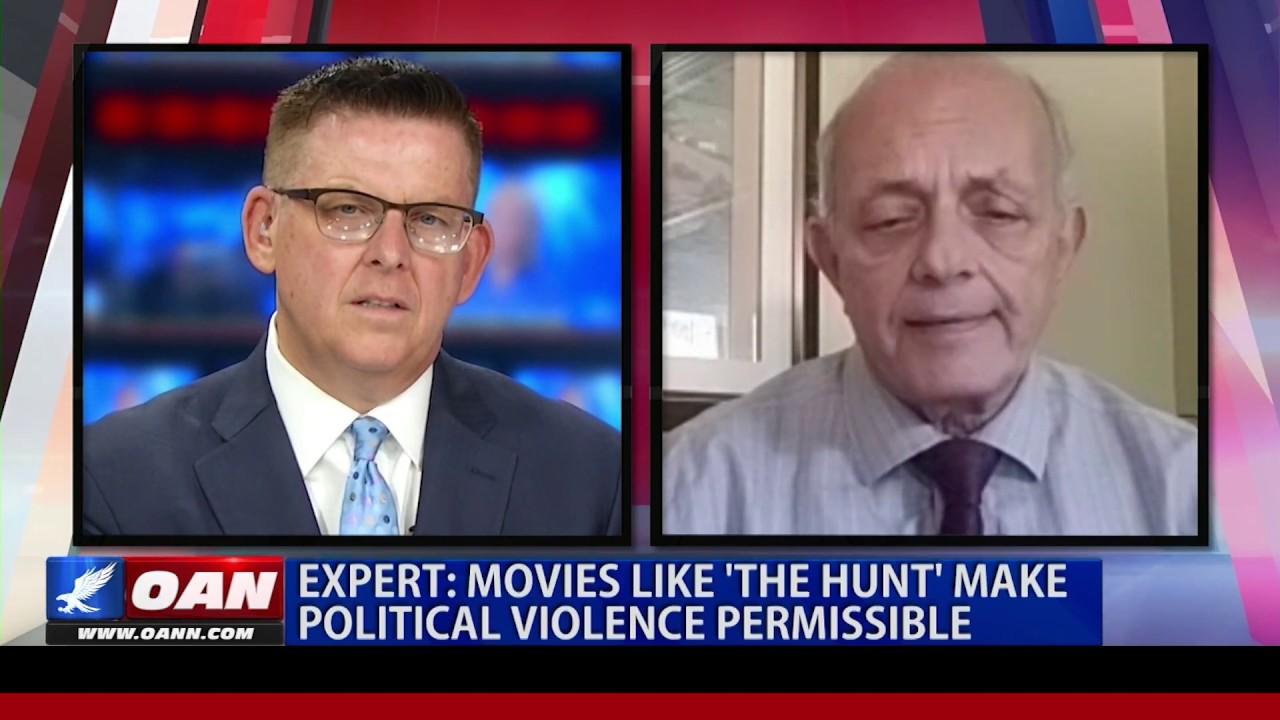 "OANN Expert: Movies like ""The Hunt"" make political violence permissible"