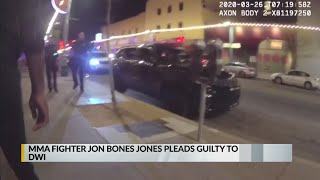 MMA fighter Jon 'Bones' Jones pleads guilty to DWI