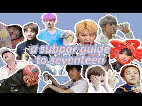 a subpar guide to seventeen