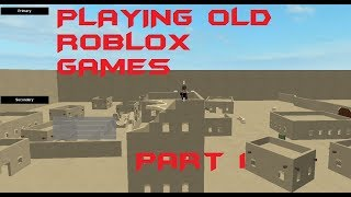 Roblox Desert Warfare: Breakpoint Playing old games !!!!!! ROBLOX Desert Warfare: Breakpoint