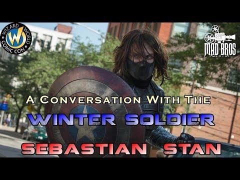 WIZARD WORLD PORTLAND 2018 SEBASTIAN STAN WINTER SOLDIER PANEL