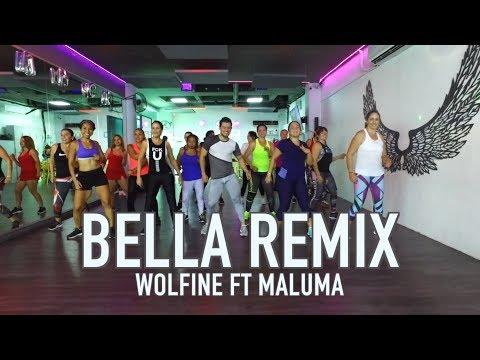 Bella Remix - Wolfine ft Maluma by Cesar James Zumba Cardio Extremo Cancun