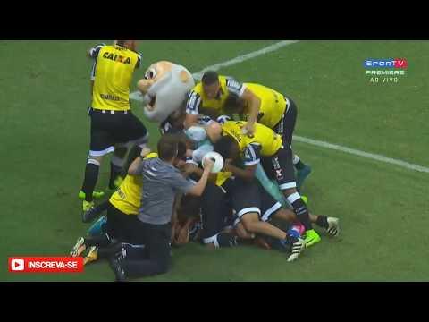 Ceará 2x2 Figueirense - Gols - Campeonato Brasileiro Série-B 2017