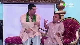 Amanat Chan and Zafri Khan  Aashiq China Made  New Pakistani Stage Drama Full Comedy Clip