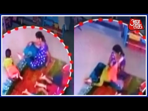 Maid Kicks And fractures 9-Month-Old Baby's Head In Kharghar Day Care