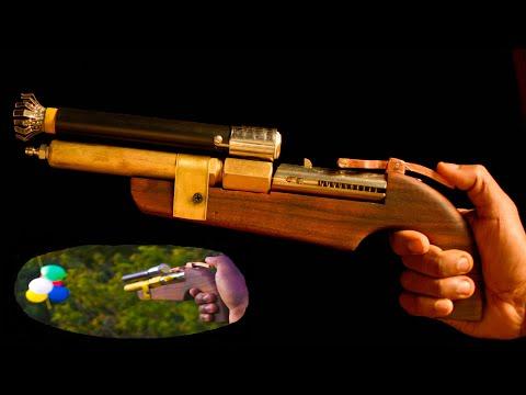 Homemade Air Gun Final Part  | Air Powered Shotgun
