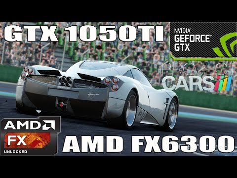 (1080p) Project Cars: Pagani Edition Benchmark - GTX 1050 TI - AMD FX 6300 - Ultra Settings