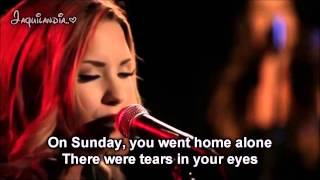 Give your heart a break ( Demi Lovato ) Karaoke acoustic piano
