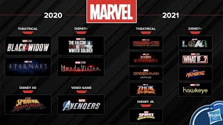 2021 DISNEY PLUS SLATE OFFICIALLY REVEALED Ms Marvel and Hawkeye Release Dates
