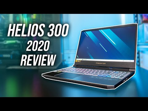 Acer Helios 300 (10th Gen) Review - A Fall From Grace