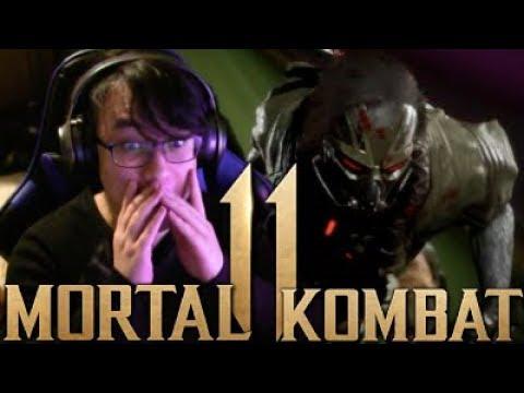 Mortal Kombat 11 - Kabal REACTION Gameplay Trailer Reveal thumbnail