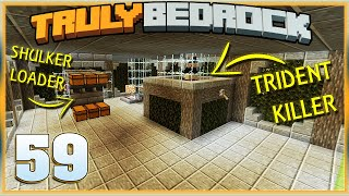 Truly Bedrock S1E59 Witch Farm Changes | Minecraft Bedrock Edition SMP, MCPE, MCBE