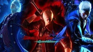 ☯ Devil May Cry 4: Special Edition ~ Super Dante, Super Nero & Super Vergil VS ALL BOSSES [DMD] ☯