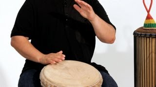 Djembe Kuku Rhythm 1st Accompaniment | African Drums