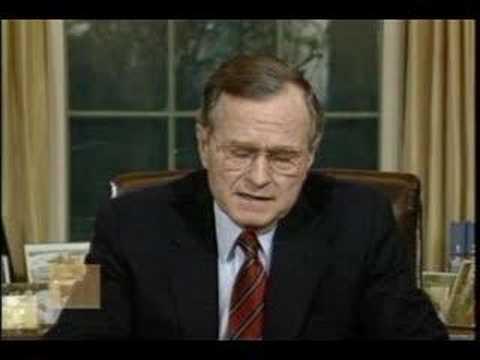 President George H.W. Bush - Address to the Nation on Panama