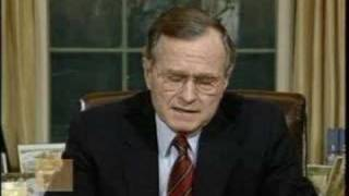 President George H.W. Bush - Address to the Nation on Panama
