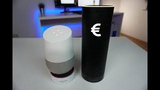 So viel Strom verbrauchen Amazon Echo / Dot und Google Home pro Jahr!! - Venix [4K]