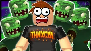 1000+ KILLS IN FIRST EVER GAME!? | Roblox Zombie Attack