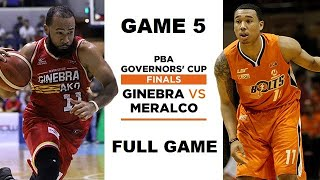 GINEBRA VS MERALCO GAME 5 (FULL GAME)