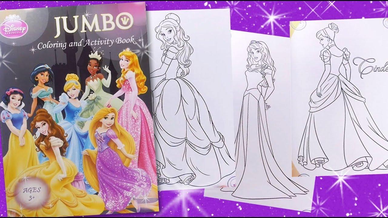 Disney Princess jumbo activity