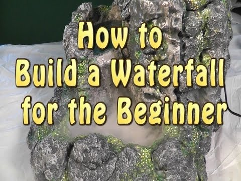 Build a waterfall for the beginner