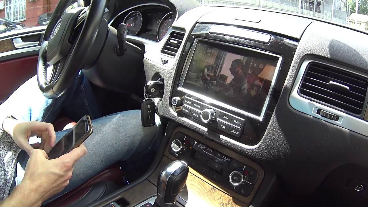 Apple Tv + Rns 850 = Screen Mirroring / Touareg Nf  Эксплуатация Vag 06:13  HD